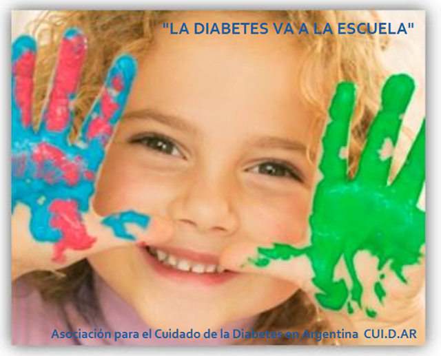 La diabetes va a la escuela