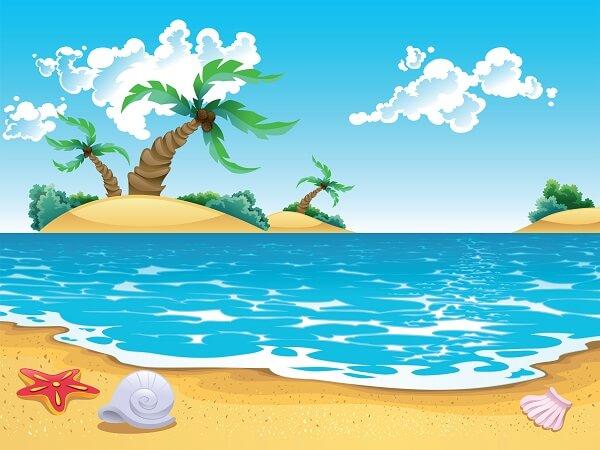 Viaje a la playa - Poema para niños